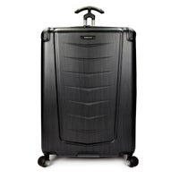 Fashion Wheeled & Checked Luggage