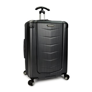 Traveler's Choice Silverwood 26-inch Polycarbonate Hardside Spinner Upright Suitcase