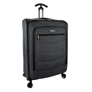 Traveler's Choice Silverwood 30-inch Expandable Spinner Upright Suitcase
