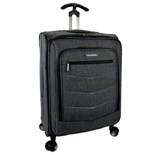 Traveler's Choice Silverwood 26-inch Expandable Spinner Upright Suitcase