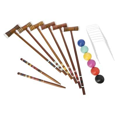 Halex Select 6 Player Croquet Set - 1 6-Player Set