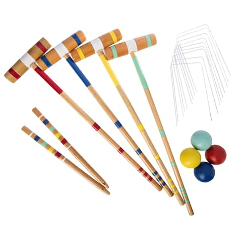 Halex Classic 4 Player Croquet Set