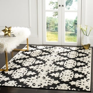 Safavieh Cottage Black/ Cream Rug (3' 3 x 5' 3)