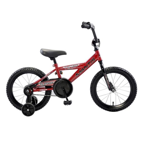 b59572a120b Children Bike 16/18 Inch Wheel Size · Red 16 Inch Bike: Shop Mantis  Flipside Red 16-inch Kids Bicycle