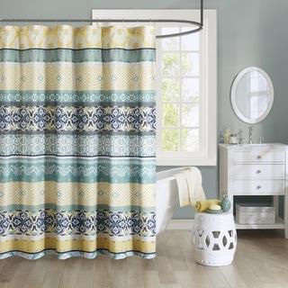 Intelligent Design Celeste Printed Shower Curtain