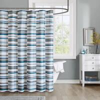 Intelligent Design Wyatt Printed Shower Curtain