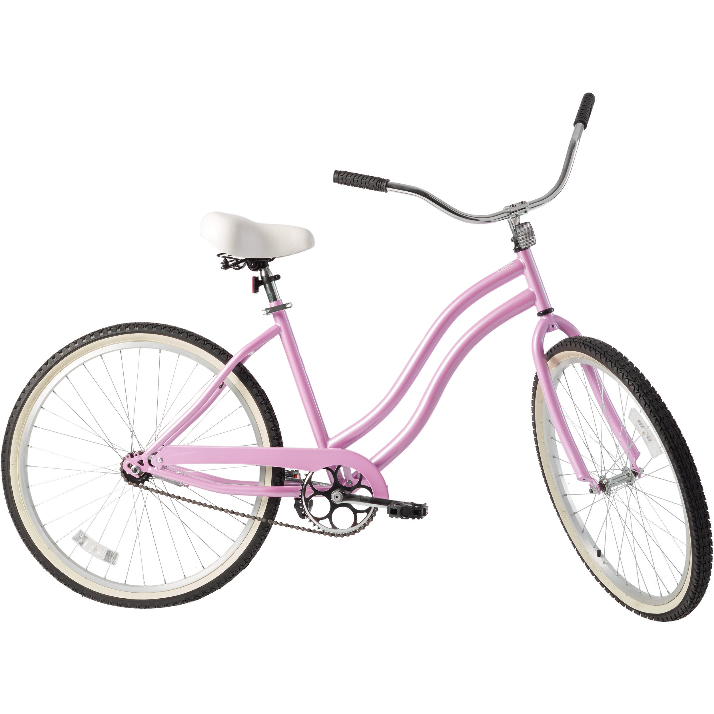 Cycle Force 26-inch Ladies Cruiser Bike (Pink), Size 18-inch