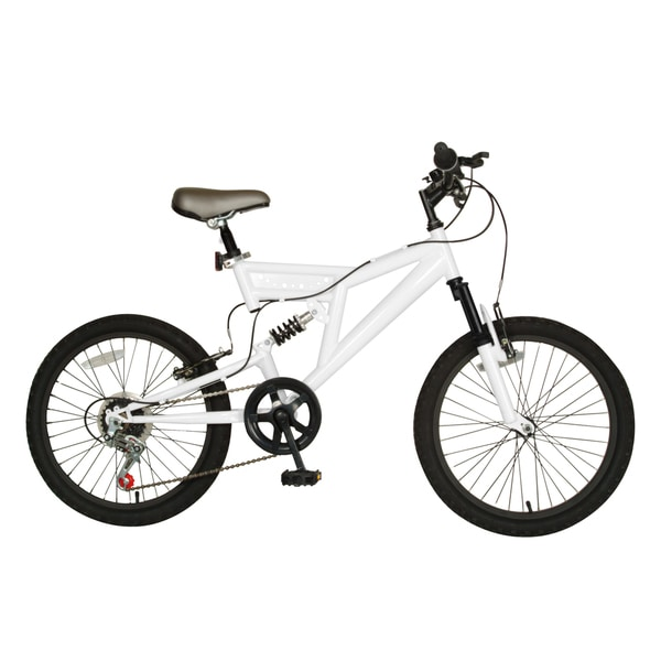 Cycle Force 20-inch Dual Suspension Bike