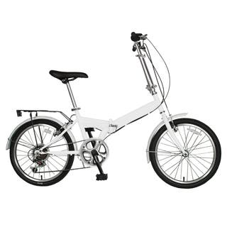 Cycle Force 20-inch Folding Bike, White|https://ak1.ostkcdn.com/images/products/11731068/P18649895.jpg?impolicy=medium