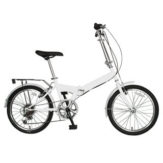 Cycle Force 20-inch Folding Bike, White