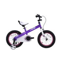 RoyalBaby Honey 18-inch Kids' Bike with Training Wheels