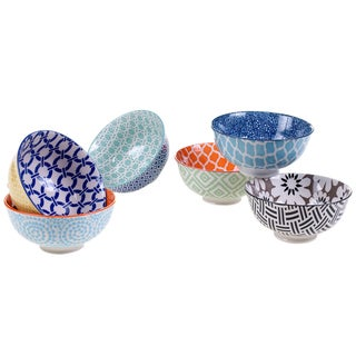 Certified International Mix & Match Chelsea Bowls, (Set of 6)