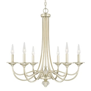 Capital Lighting Windsor Collection 6-light Soft Gold Chandelier