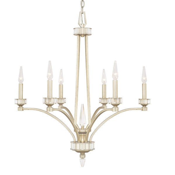 Capital Lighting Olivia Collection 6 Light Winter Gold