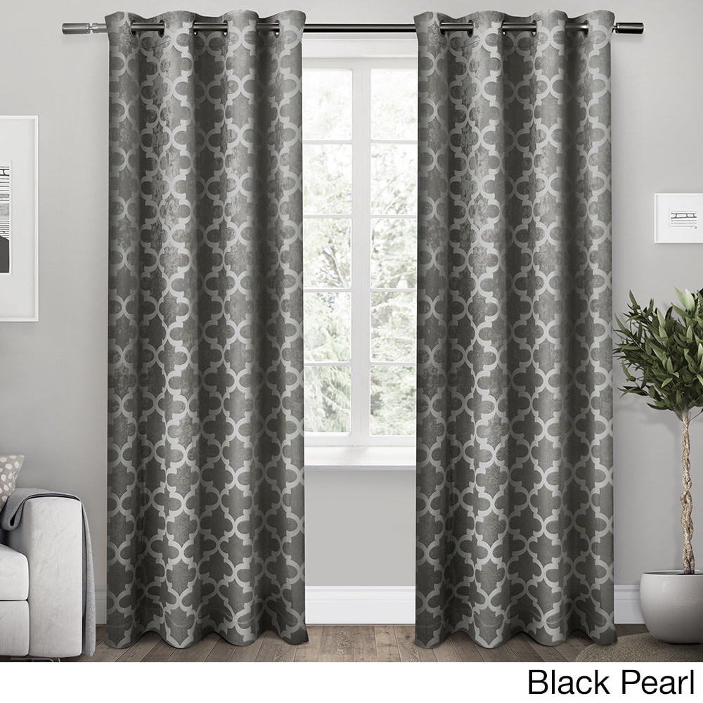 ATI Home Cartago Insulated Woven Blackout Window Curtain ...