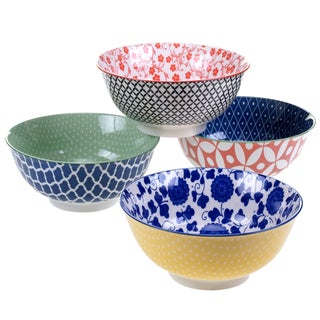 Certified International Mix & Match Soho Bowls (Set of 4)