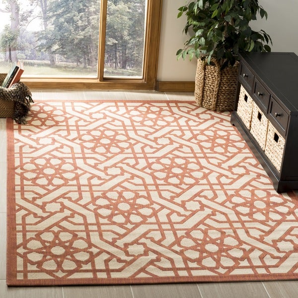 Martha Stewart by Safavieh Triumph Cayenne Indoor/ Outdoor Rug - 8' x 11'2