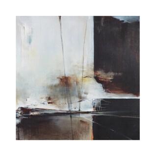 INK+IVY A World Elsewhere Black/White Gel Coat Printed Canvas