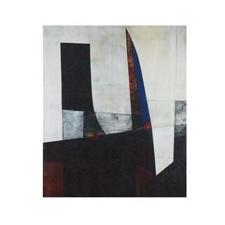 INK+IVY Shear II Black/White Gel Coat Printed Canvas