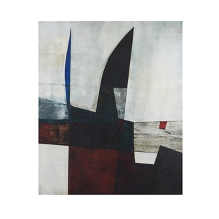 INK+IVY Shear I Black/White Gel Coat Printed Canvas