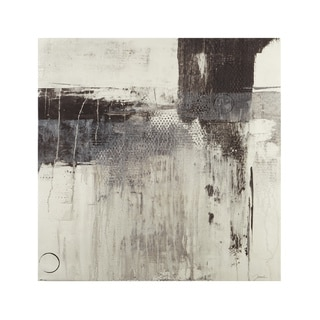 INK+IVY Windswept II Grey Gel Coat Printed Canvas