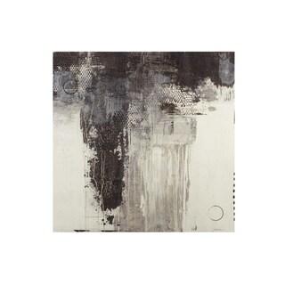 INK+IVY Windswept I Grey Gel Coat Printed Canvas