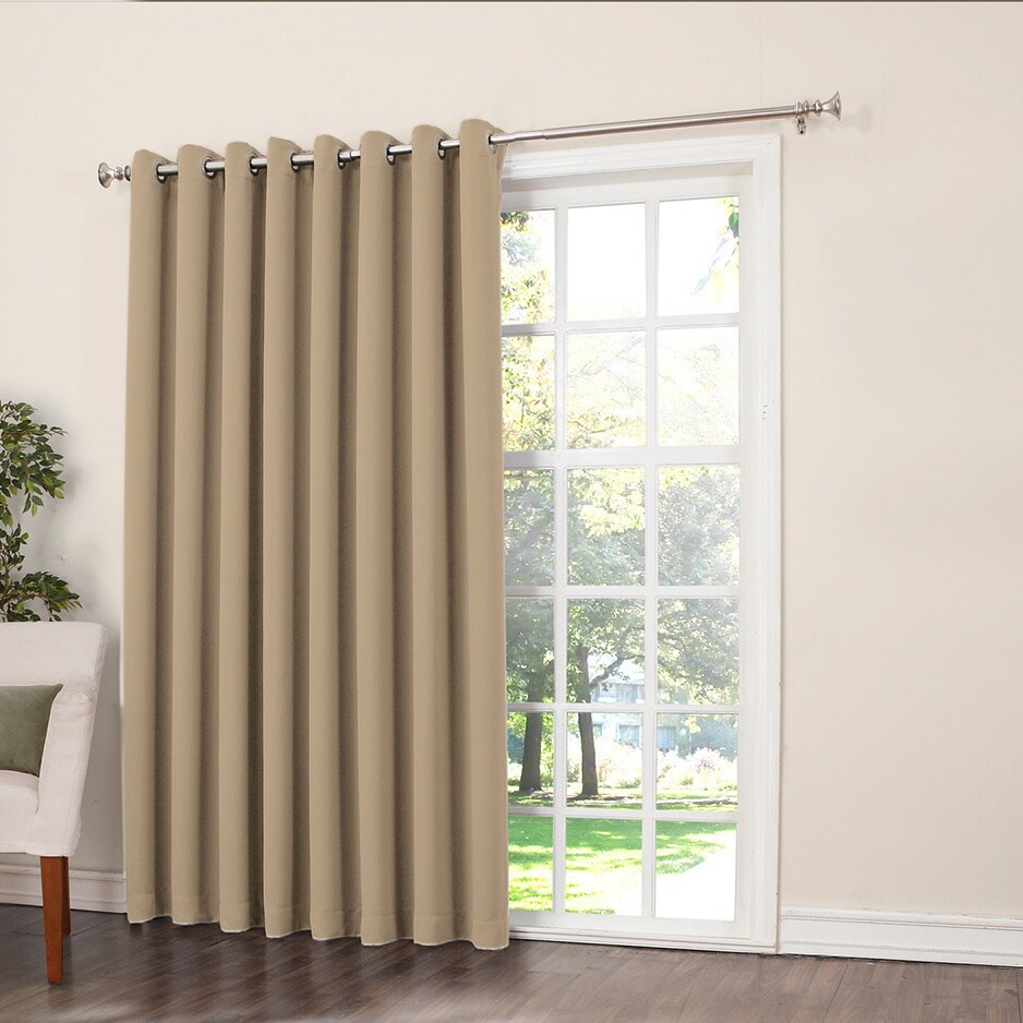 Laurel Creek Brock Rod Pocket Room Darkening Patio Door