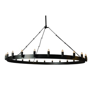 Verdun 24 Light Chandelier Oil Rubbed Bronze Finish