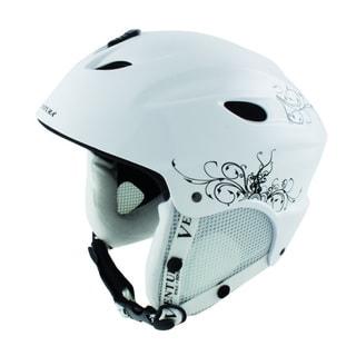 Ventura White Skiing/Snowboarding Children's Helmet S (53-56 cm)