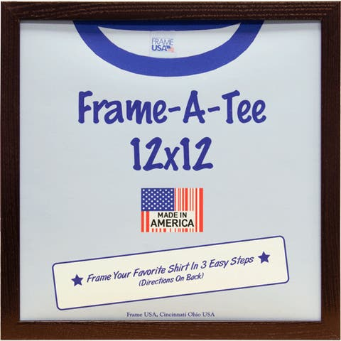 T-Shirt Frame in Dark Walnut