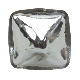 GlideRite 1.25-inch Pyramid Mercury Glass Cabinet Knob (Pack of 10 or 25)