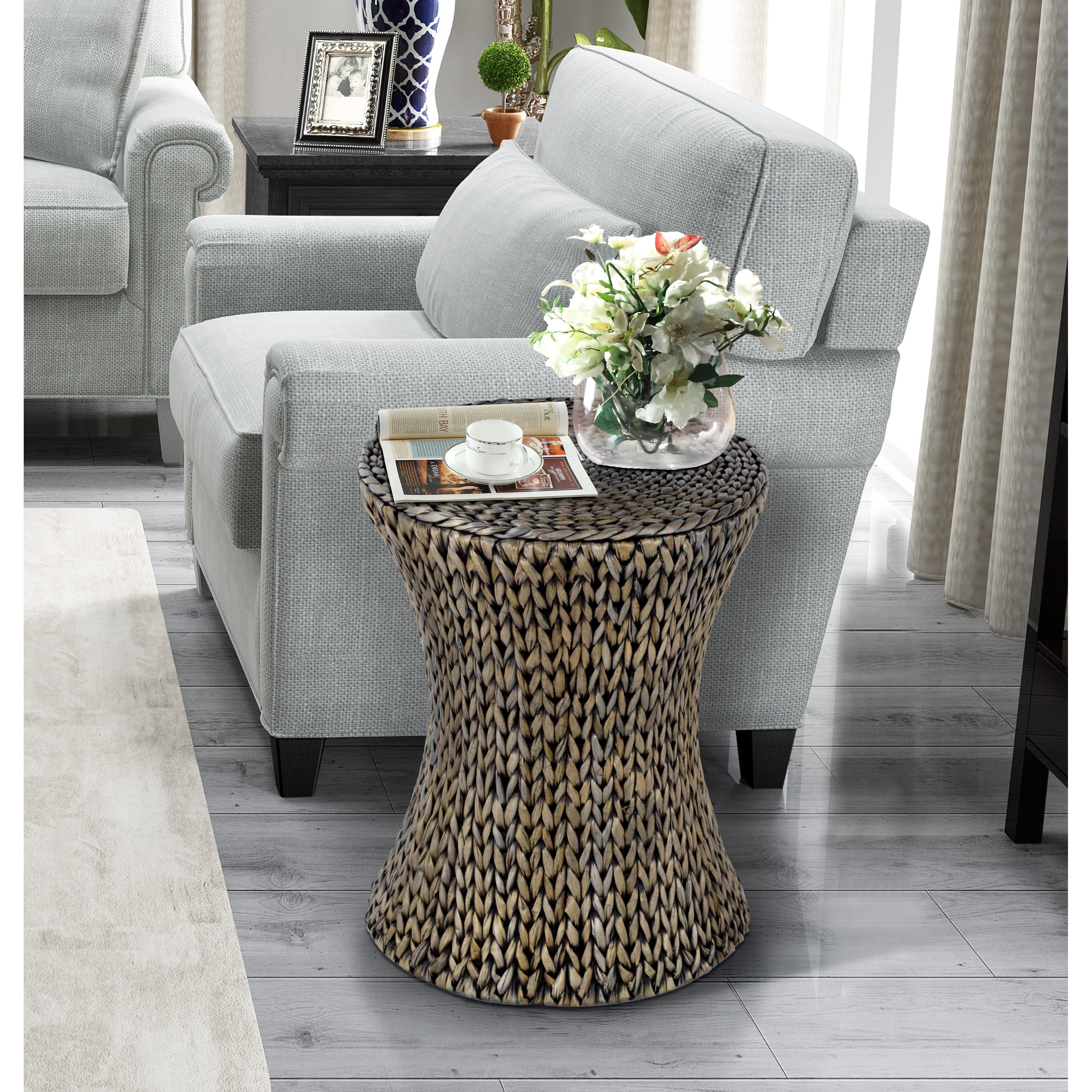 - Shop Gallerie Decor Hourglass Accent Table - On Sale - Overstock