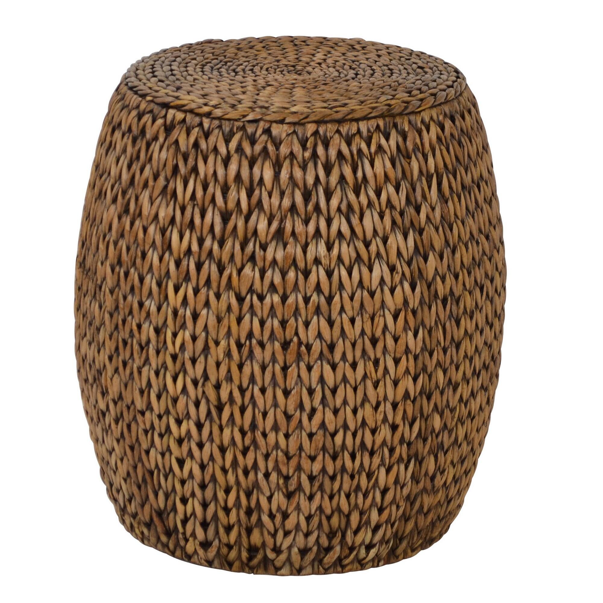 galleriedecortalldrumaccenttable. gallerie decor tall drum accent table  ebay