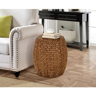 Gallerie Decor Tall Drum Accent Table (2 options available)