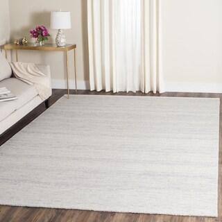 Safavieh Handmade Himalaya Silver Wool Tibetan Rug (6' x 6 Square)