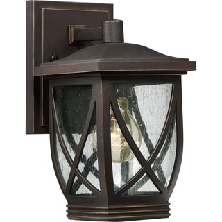 Quoizel Coastal Armour Tudor Small Wall Lantern