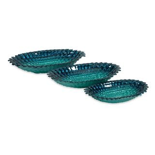 Arena Glass Bowls - Set of 3