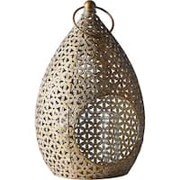 The Curated Nomad Lotta Moroccan Teardrop Hanging Lantern