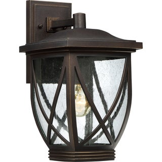 Quoizel Coastal Armour Tudor Large Wall Lantern