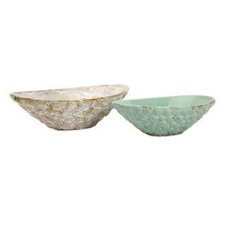 Seashell Serving Bowls - Set of 2