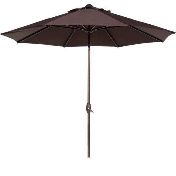 Shop Abba 9 Foot Auto Tilt And Crank Aluminum Patio Umbrella Free