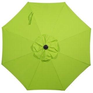 Abba Aluminum 9 Foot Patio Umbrella with Auto Tilt and Crank