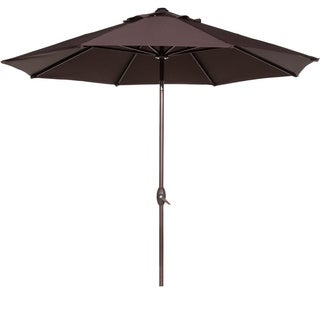 Abba 9-foot Auto Tilt and Crank Aluminum Patio Umbrella