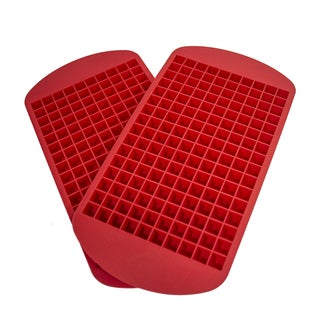 Mini Cube Silicone Ice Tray 160 Cubes (Pack of 2)