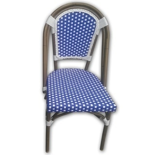 TIAB Navy & White Finish Cafe Bistro Chair