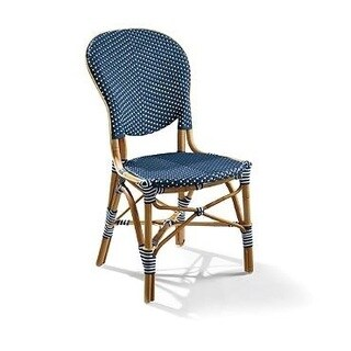 TIAB Navy Finish Cafe Bistro Chair