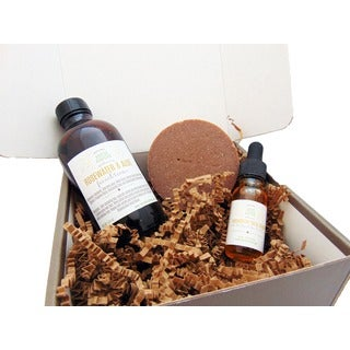 Rosehip and Sea Buckthorn Facial Gift Set for Mature and Sensitive Skin Types