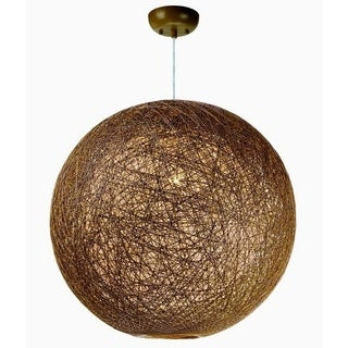 Maxim Bali 1-light Single Pendant