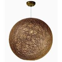 Maxim Bali 1-light Single Pendant - N/A