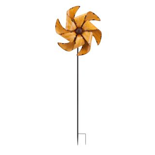 April Whirly Garden Stake